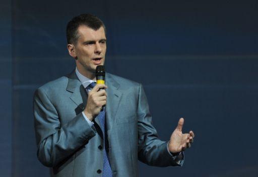 أحد اغنى رجال الأعمال الروس يترأس حزب