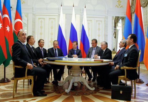 رؤساء روسيا وارمينيا واذربيجان يفشلون في الاتفاق بشأن تسوية نزاع قره باغ