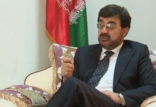 أحمد مقبل وزير مكافحة المخدرات الأفغاني