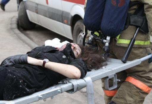 اصابة 55 شخصا جراء انفجار اسطوانة غاز اثناء  حفل زفاف بجنوب روسيا