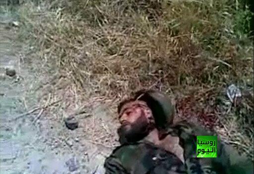 شريط فيديو لمقتل افراد من الجيش السوري