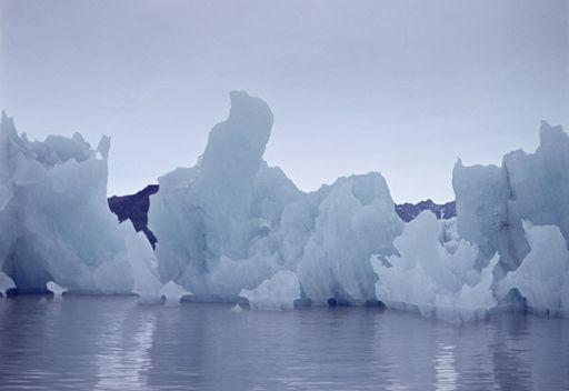 الجبال الجليدية لمكافحة الاحتباس الحراري