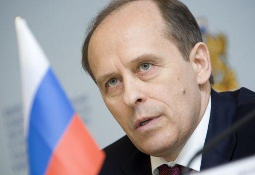 مدير هيئة الامن الفدرالية الروسية الكسندر بورتنيكوف