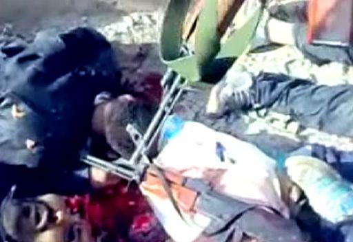 شريط فيديو مروع لاعمال العنف في سورية