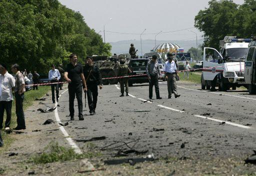 مصرع رجل شرطة واصابة اثنين آخرين في انغوشيا نتيجة هجوم مسلحين