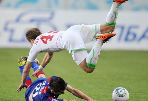 تسيسكا يفوز ويوسع الفارق مع زينيت في الدوري الروسي الممتاز