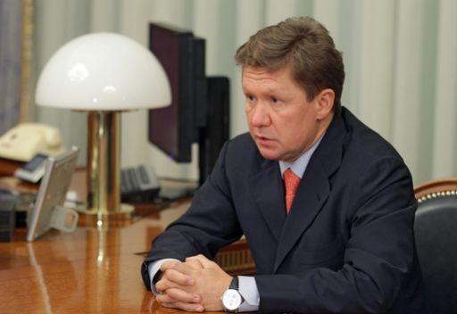 ميلر: سعر الغاز المصدر الى اوكرانيا قد يبلغ 500 دولار لكل الف متر مكعب في نهاية العام الحالي