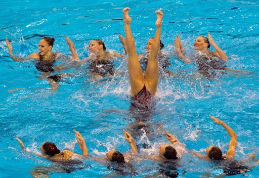روسيا تتوج بذهبية خامسة في بطولة العالم للألعاب المائية