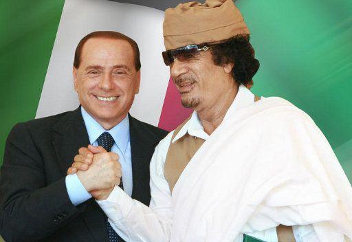 برلسكوني: كنت معارضا ومازلت لمشاركة ايطاليا في الحرب ضد ليبيا