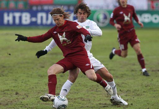 روبين يصعد للمركز الثاني في الدوري الروسي الممتاز