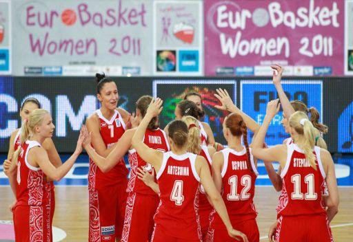روسيا تبلغ نهائي بطولة اوروبا بكرة السلة للسيدات