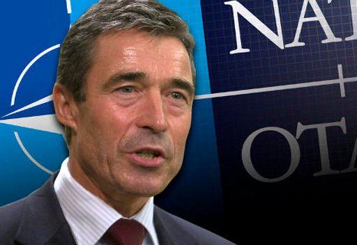 راسموسن ينفي نية الحلف للتدخل في سورية ويؤكد تقدم الثوار في ليبيا