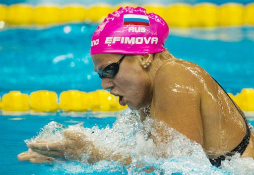 السباحة الروسية يفيموفا تحرز فضية 200 متر في بطولة العالم للسباحة