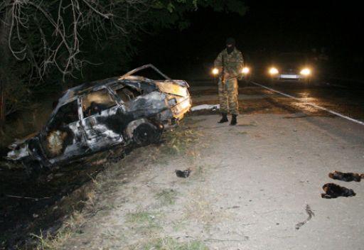 مقتل 6 اشخاص واصابة 6 آخرين بجروح في تبادل اطلاق النار بجمهورية داغستان