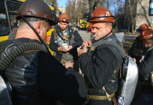 اعلان الحداد في أوكرانيا على أرواح عمال مناجم قضوا في حادثين منفصلين