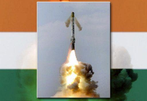 الهند تختبر اطلاق صاروخ باليستي جديد قصير المدى