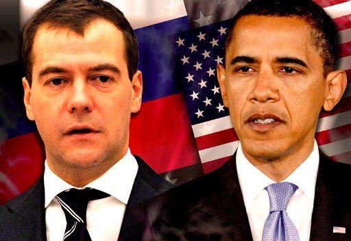 مدفيديف يطلع اوباما على الجهود الروسية الرامية إلى تسوية الأزمة في ليبيا