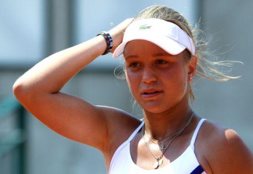 الروسية خروماتشيفا تتأهل لنهائي بطولة ويمبلدون بالتنس للناشئات