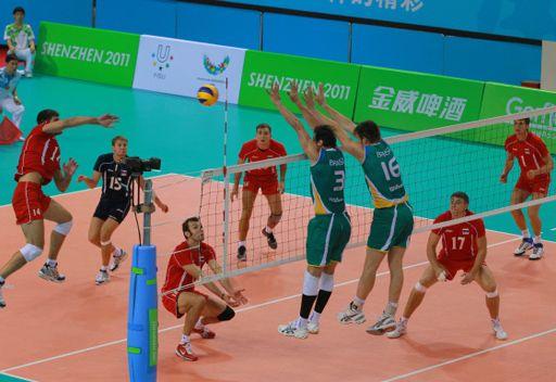 من لقاء روسيا والبرازيل (نصف النهائي)