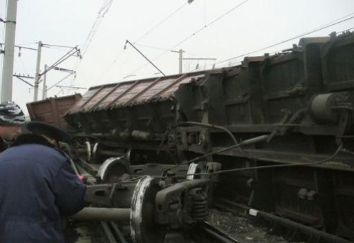 مقتل شخصين في اصطدام قطاري شحن في وسط  روسيا