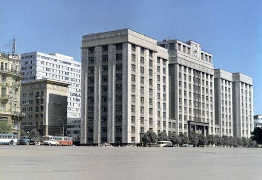 مبنى مجلس الدوما الروسي
