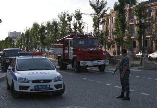 انفجاران في غروزني ومقتل 7 اشخاص من بينهم 5 من الشرطة ومنقذ ومدني
