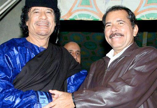 نيكاراغوا مستعدة لمنح معمر القذافي اللجوء السياسي
