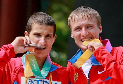 بورتشين يحرز باكورة ميداليات روسيا في بطولة العالم لألعاب القوى