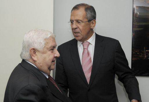 موسكو تدعو المجتمع الدولي للضغط على المعارضة لوقف العنف وبدء حوار شامل في سورية