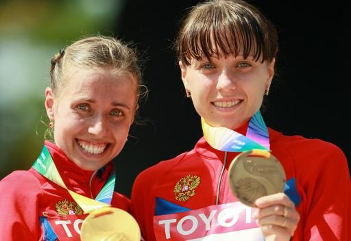 الروسية كانيسكينا تتوج بذهبية 20 كم مشيا في بطولة العالم
