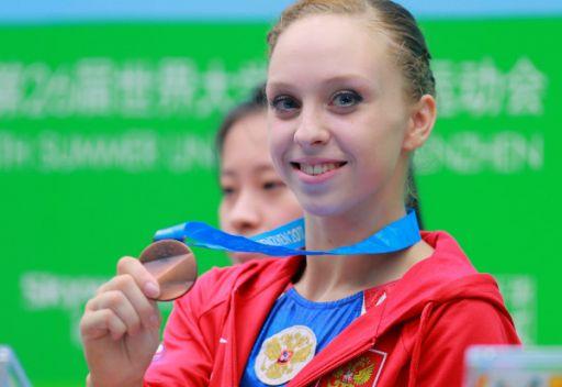 ست ميداليات جديدة تضاف الى رصيد الوفد الروسي لليونيفيرسياد