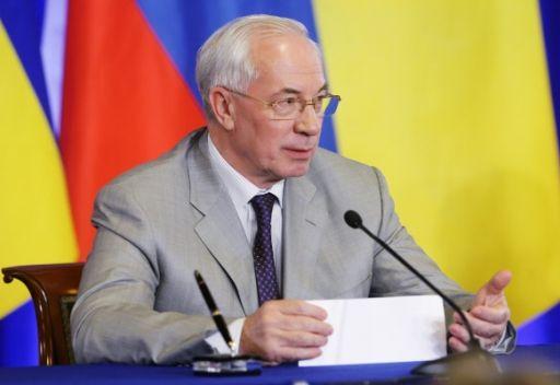 نيقولاي ازاروف رئيس الوزراء الاوكراني زعيم حزب الاقاليم