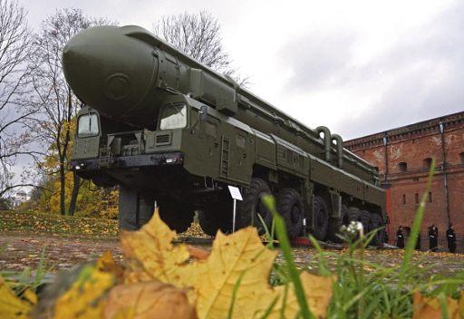 الصاروخ الباليستي العابر للقارات من طراز