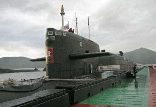 غواصة نووية روسية تصطدم بسفينة صيد قرب شواطئ كامتشتكا