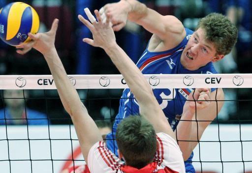 روسيا تخرج خالية الوفاض من بطولة أوروبا للكرة الطائرة