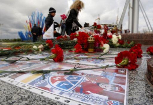 مينسك تكرم ذكرى لاعبي هوكي الجليد الذين لقوا مصرعهم في تحطم الطائرة في ياروسلافل
