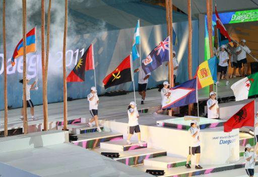 الوفد الروسي يحتل المركز الثاني في اليوم السادس من بطولة العالم لألعاب القوى