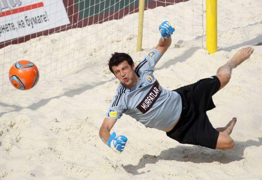 السلفادور تهزم الأرجنتين في مونديال كرة القدم الشاطئية