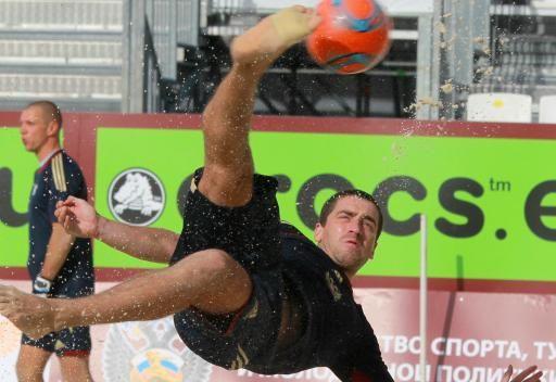 روسيا تحقق فوزها الثاني في مونديال كرة القدم الشاطئية