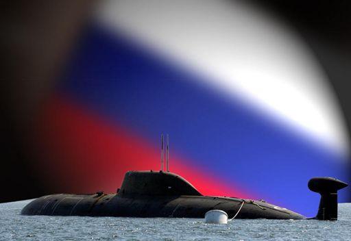 الغواصة الذرية الروسية