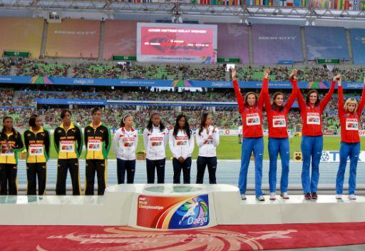 روسيا تحتل المركز الثاني في بطولة العالم لألعاب القوى