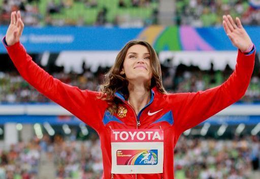 تشيتشيروفا تحطم الرقم القياسي لمسابقة الوثب العالي