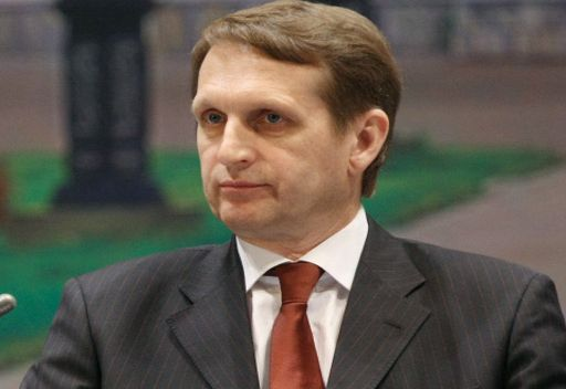 سيرغي ناريشكين رئيس الديوان الرئاسي الروسي