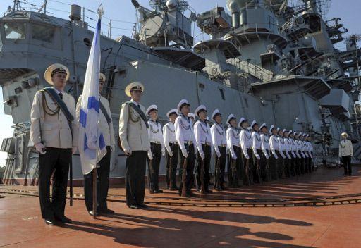 سفينة عسكرية روسية مضادة للغواصات تزور ميناء طرطوس