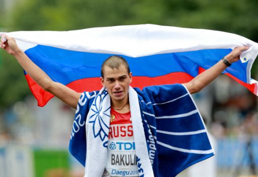 روسيا تهيمن على سباقات المشي في بطولة العالم لألعاب القوى