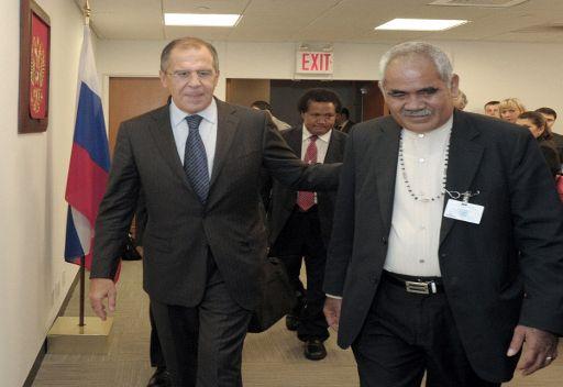 روسيا تقيم علاقات دبلوماسية مع دولة توفالو