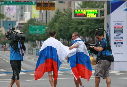 روسيا تحافظ على المركز الثاني في اليوم الثامن من بطولة العالم لألعاب القوى