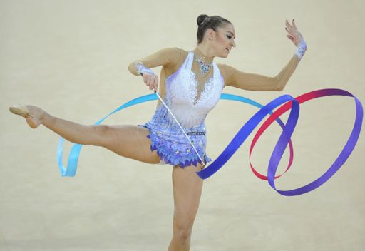 كانايفا تتألق من جديد في بطولة العالم للجمباز الايقاعي