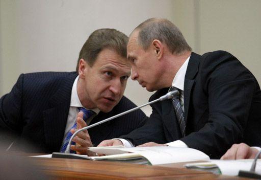 بوتين: ايغور شوفالوف سيتولى تسيير الشؤون الاقتصادية في الحكومة بدلا من كودرين