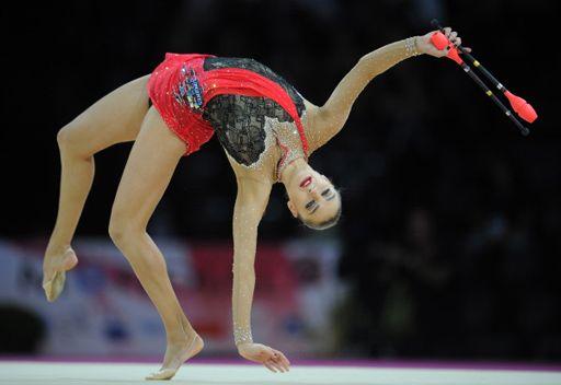 كانايفا تحرز رابع ذهبية في بطلة العالم للجمباز الايقاعي